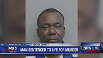 Man sentenced to life for murder