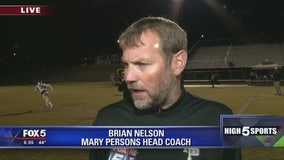 Game of the Week preview - Mary Persons head coach