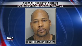 Police: Dog trainer booked into Cobb County jail