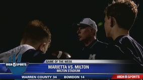 Marietta vs Milton - Game of the Week