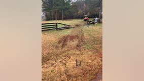 Henry County homeowner frustrated with driver crashing into his wooden fence