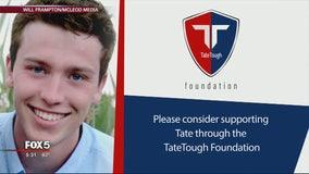 UGA student wounded in robbery creates 'TateTough' Foundation