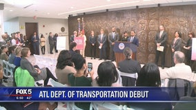 Mayor debuts new Atlanta Department of Transportation