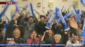 Team of the Week pep rally at Morrow High School