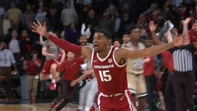 Arkansas' lone overtime basket enough to top Jackets at buzzer