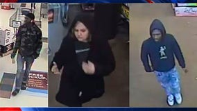 Athens police searching for 3 vehicle break-in suspects