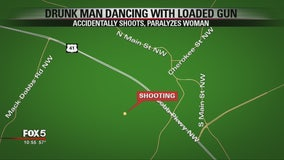 Police: Drunk man dancing with loaded gun shoots, paralyzes woman