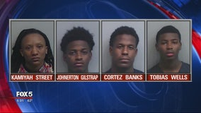 4 in custody, 1 on the run for southwest Atlanta ambush murder