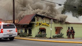 Mexican restaurant 'total loss' after fire