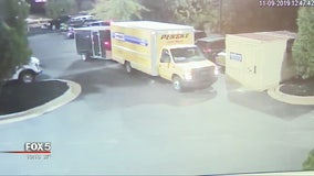 New surveillance video in case of truck, trailer stolen from veteran