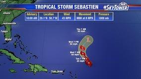 Tropical Storm Sebastien forms in Atlantic; no threat to U.S.