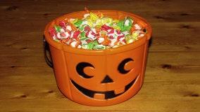 Man arrested after children find razor blades in candy
