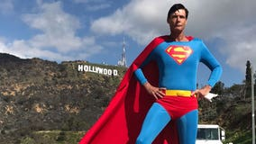 Final wish fulfilled: 'Hollywood Superman' Christopher Dennis to be buried in his costume