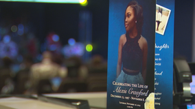 Hundreds pay their respects at funeral of murdered Clark Atlanta student Alexis Crawford