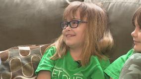 Acworth girl celebrates kidney transplant anniversary