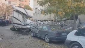 Albanian earthquake kills 16; rescuers hunt for survivors