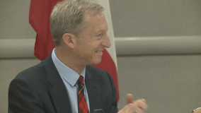 Democratic presidential candidate Tom Steyer holds roundtable in Atlanta