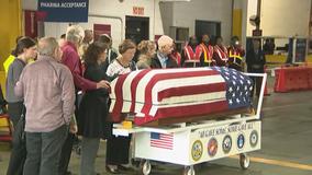 Hundreds line streets as Hogansville pays respect to fallen Korean War soldier