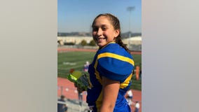 Play like a girl: 10-year-old Oakland girl helps bring her all-star football team to victory