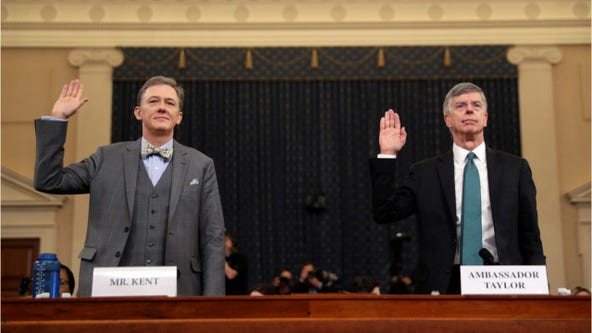 Historic impeachment hearing: Top diplomats testify, offer new information about Ukraine call