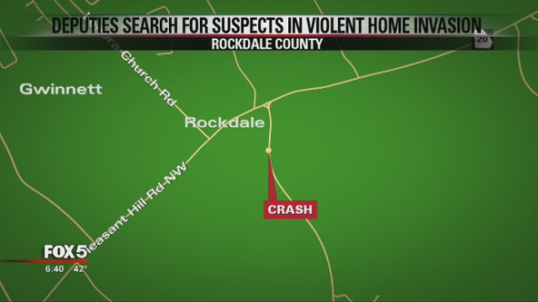 Deputies searching for suspects in violent Rockdale County home invasion