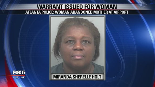 Authorities say daughter abandons elderly mom at the airport