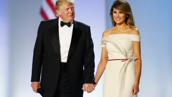 Donald and Melania Trump officially register to vote in Florida