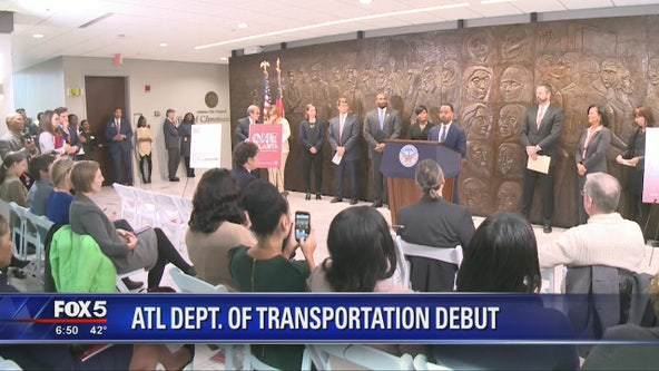 Mayor debuts new Atlanta Department of Transportation