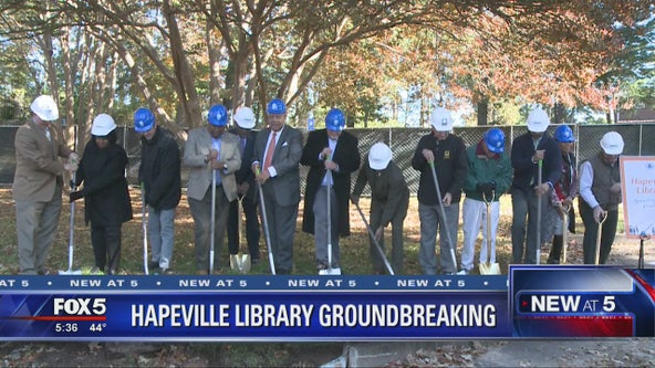 Hapeville library groundbreaking