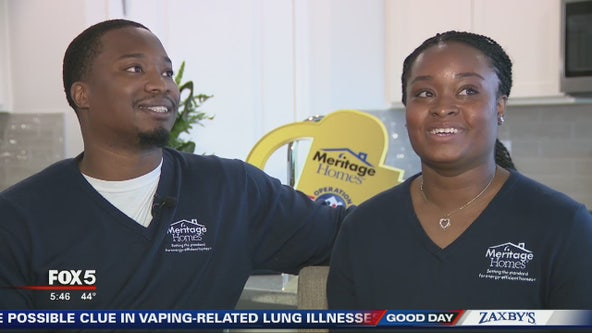 Marine veteran couple gets new free home in Canton