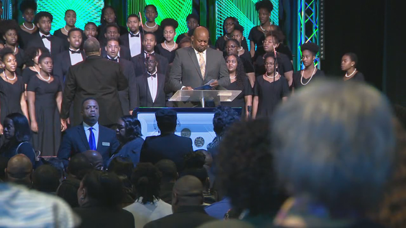 Family, friends saying goodbye at funeral of murdered Clark Atlanta student Alexis Crawford