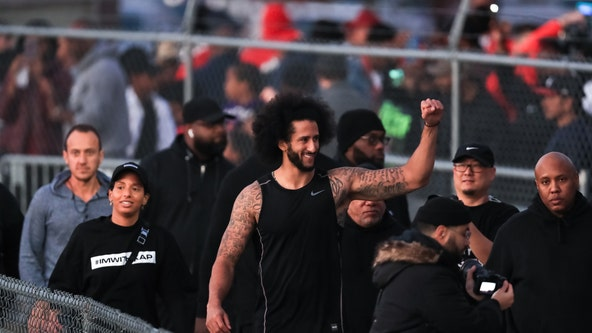 Fans turn out for Colin Kaepernick's practice in Clayton County