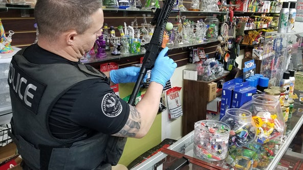 Police seize 100 pounds of substances, marijuana in Marietta tobacco and vape shop raids