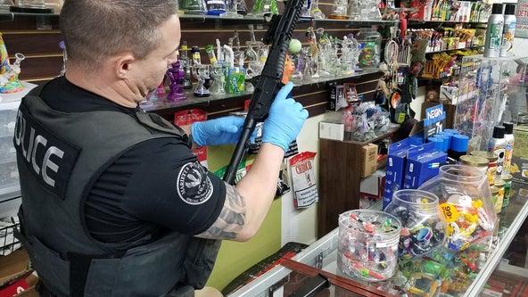 Police seize 100 pounds of substances, marijuana in Marietta tobacco and vape shop raids