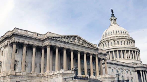 House passes short-term spending measure as talks falter