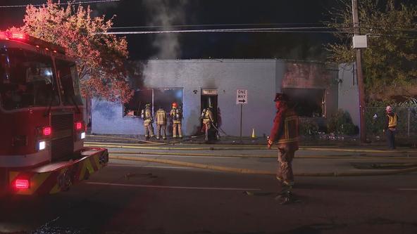 Fire officials call early morning fire at Atlanta vape shop 'complex'