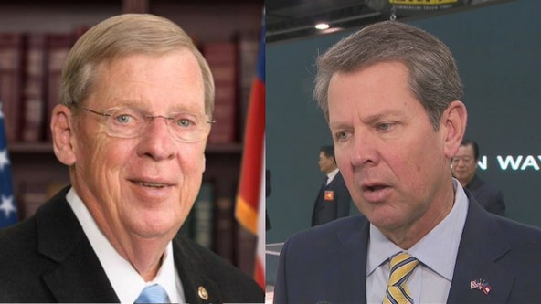 Gov. Kemp announces application deadline for Isakson's Senate seat