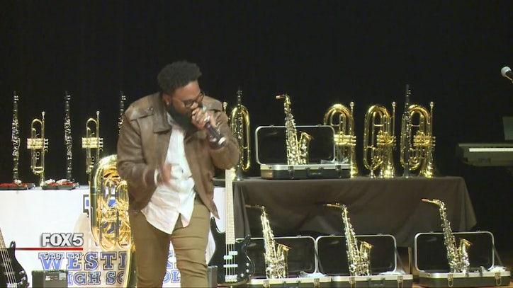 Blanco Brown performs at alma mater in Fulton County - FOX 5 Atlanta