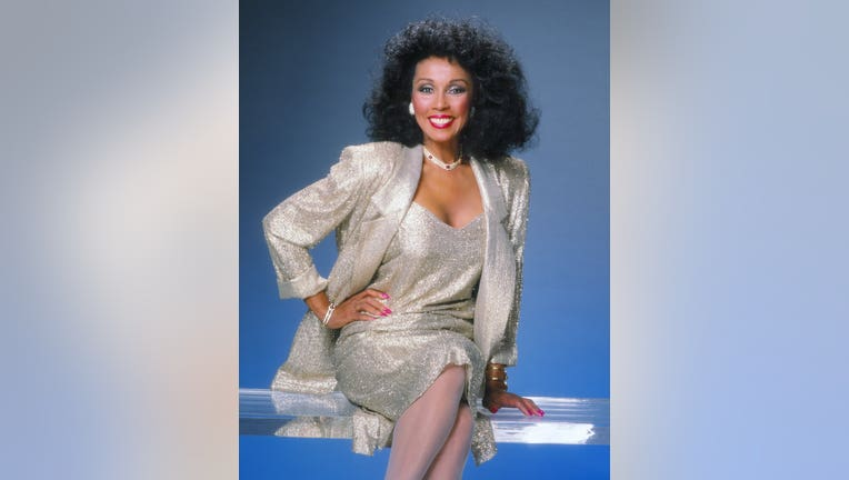 Actress Diahann Carroll poses for a portrait in 1989 in Los Angeles, California.