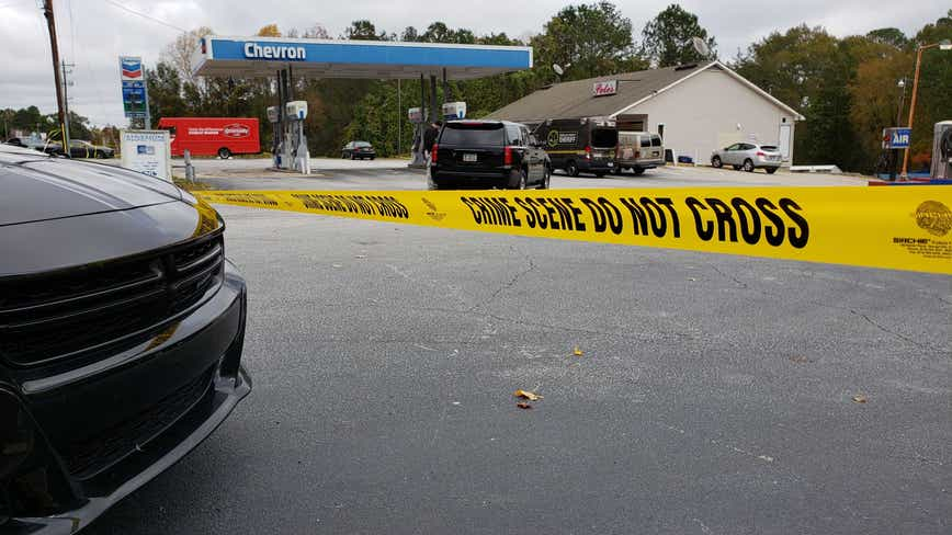 Man found shot to death in Douglas County gas station parking lot