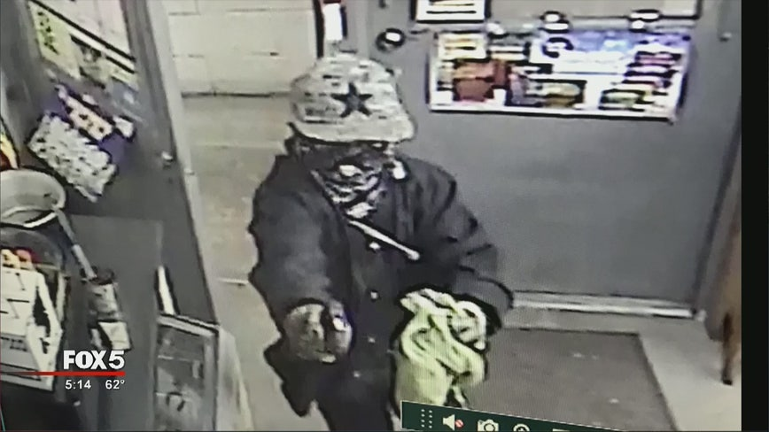 Police hope fashion statement leads to identity of armed robber