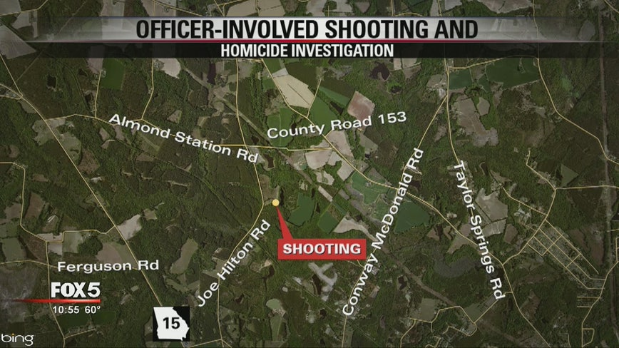 GBI investigating officer-involved shooting at Vidalia home