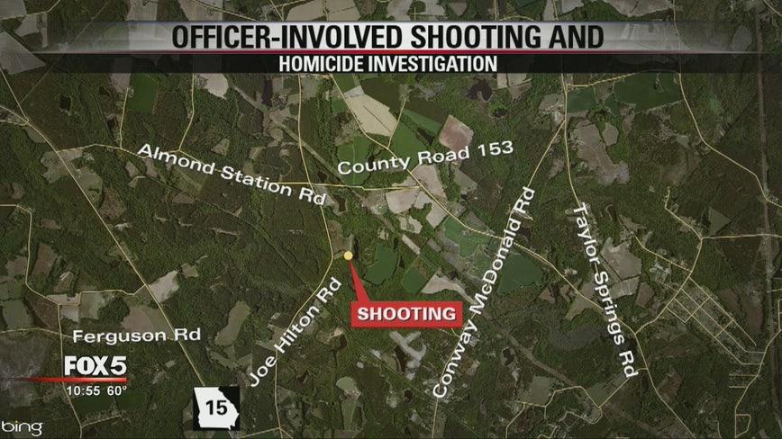 GBI investigating officer-involved shooting at Vidalia home