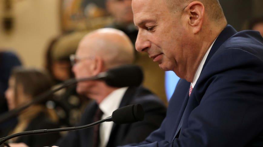 'We followed the president's orders': Gordon Sondland testifies in Trump impeachment hearings on Ukraine dealings