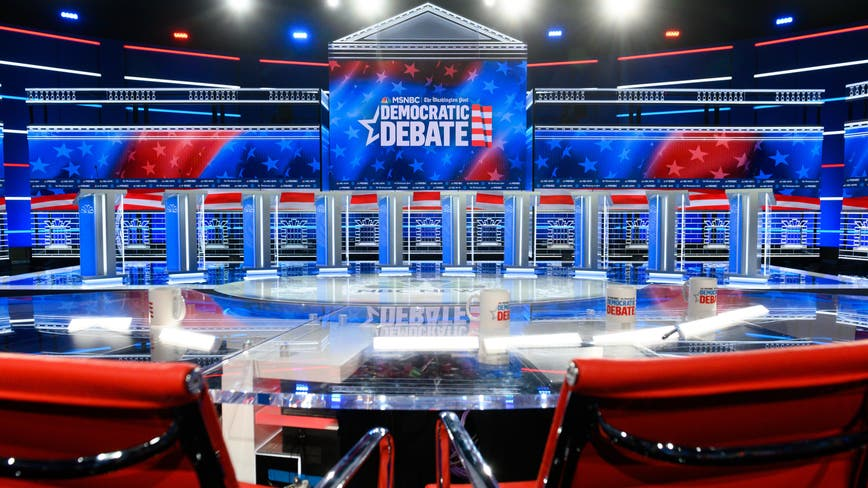 Democratic presidential contenders to take stage at Tyler Perry Studios