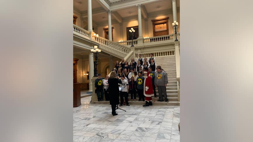 Toys For Tots holds kickoff ceremony at State Capitol