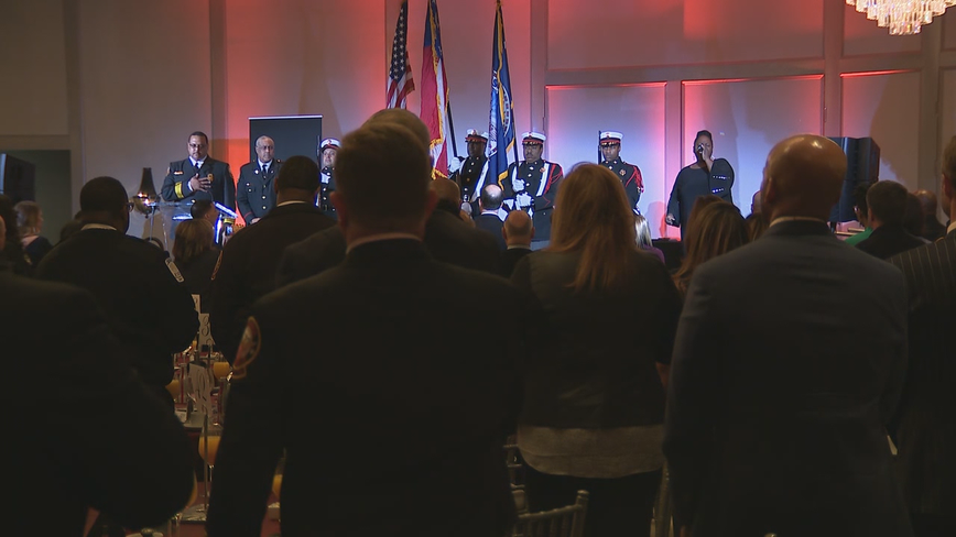 Breakfast with Our Bravest event honors Atlanta's firefighters, paramedics, and EMTs