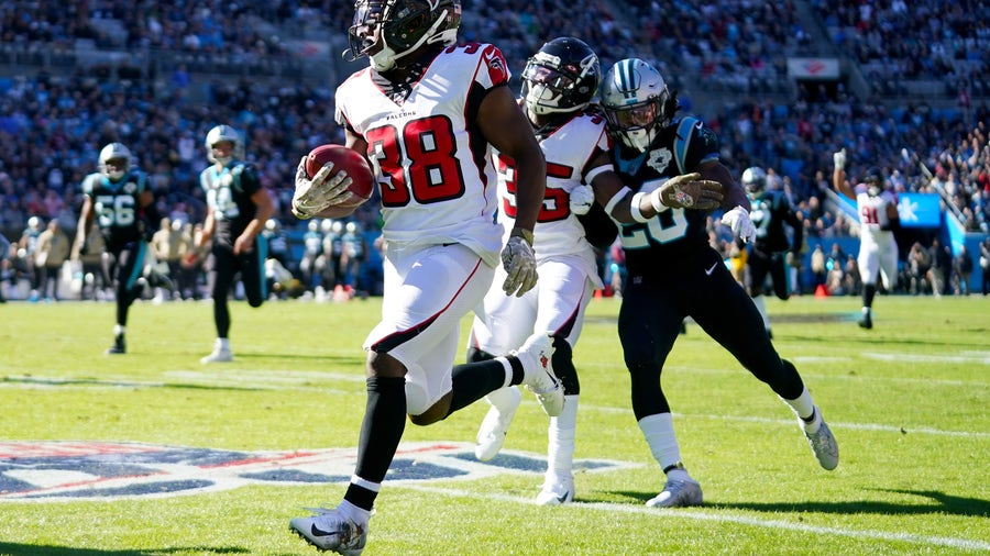 Falcons defense overwhelms Allen, Panthers 29-3