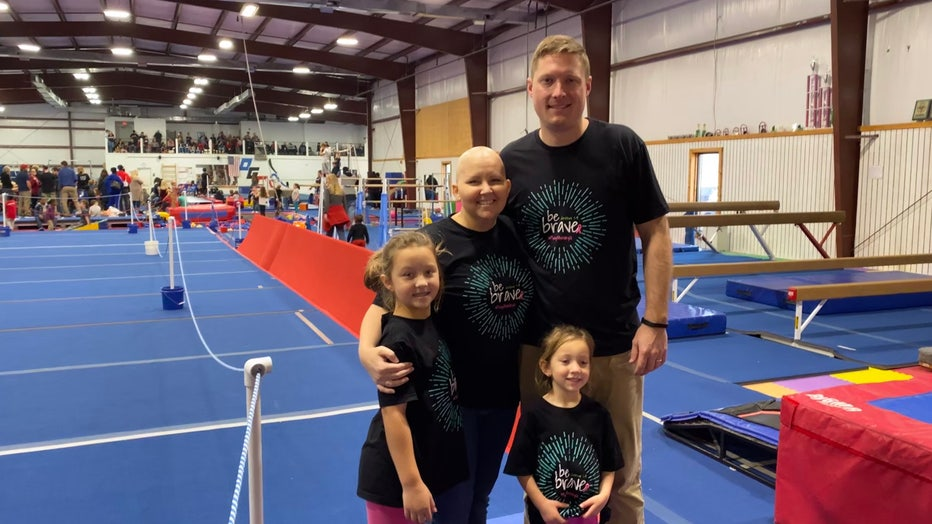 Ashley Gunter and her family.