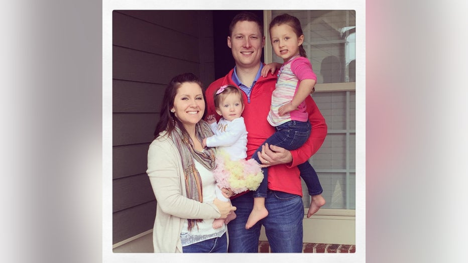 Ashley Gunter with her family